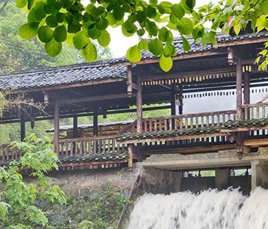 Rock Climbing on Gudong Waterfall