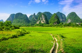 5 Days Essence Guilin and Longsheng Short Hiking Muslim Tour