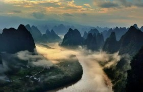 ready for sunrise on li river