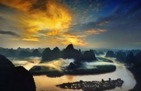 sunrice on Li River 3