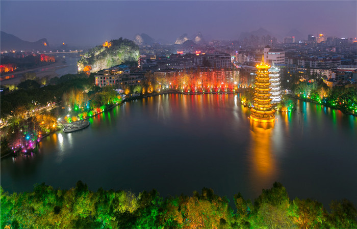6 Day Hong Kong, Guilin & Yangshuo Bullet Train Tour