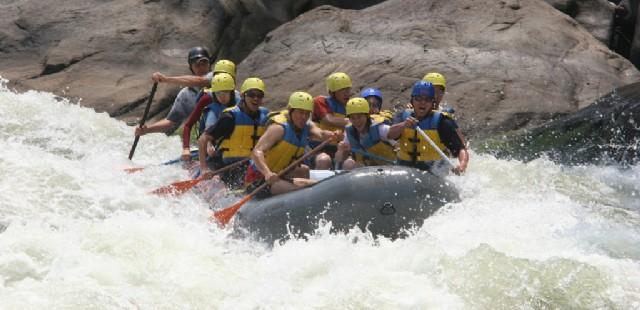 Wupai River Rafting