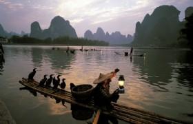 Yangshuo Li River Fishman