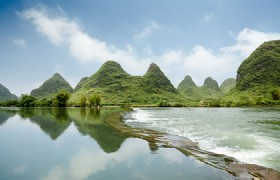 Yulong River and Village