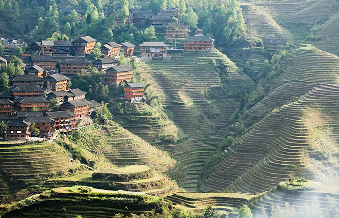 Longsheng Rice Terraces 1-night Accommodation with 2-way Transfer from Guilin