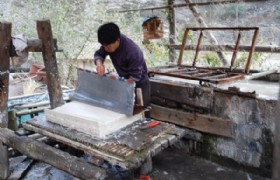 ancient process of paper making in shiqiao