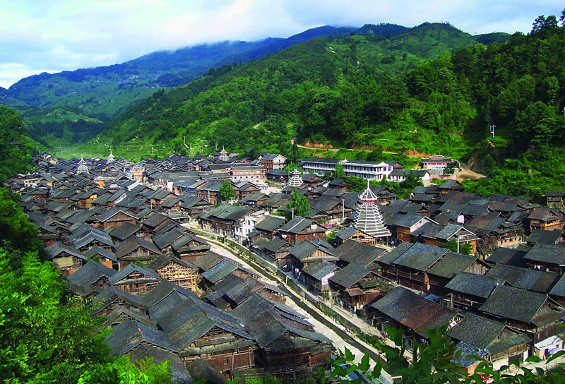 Zhaoxing Dong People's Village