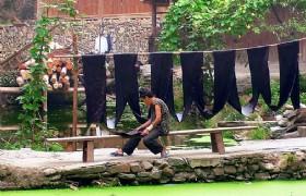 zhaoxing village Indigo Batik