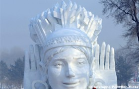 International Snow Sculpture Art Expo in Harbin
