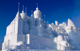 Harbin Sun Island Snow Sculpture 2