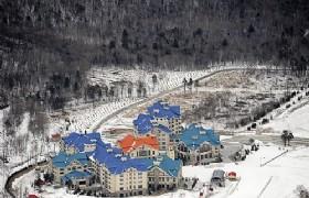Yabuli Resort panaramic view