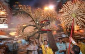 cheung chau Island Bun Festival parade