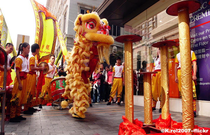 New Territories Tour and Chinese New Year Parade
