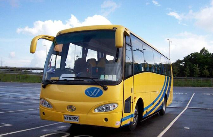 Hire a private 23-seat coach with tour guide in Hong Kong
