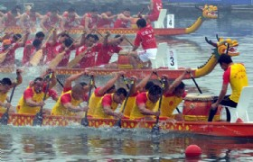 dragon boat race Hong Kong