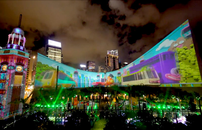 Hong Kong Pulse Light Show