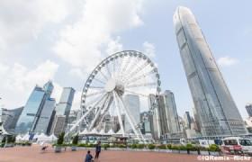 The Hong Kong Observation Wheel1 at night