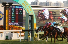 Horseracing fanal point Hong Kong