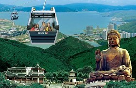 Ngong Ping Cable Car and Giant Buddha