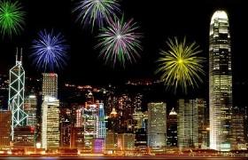 Fireworks cruise Hong Kong