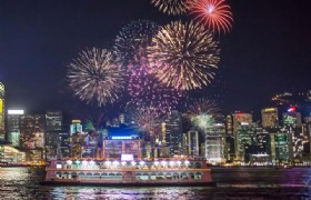 Chinese New Year Fireworks Cruise Tour
