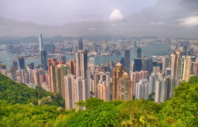 Victoria Peak by tram ride