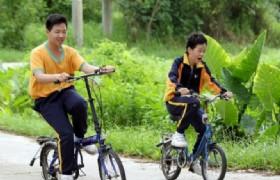 bike ride countryside Hong Kong