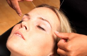 face threading experience in Hong Kong