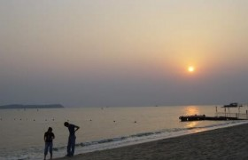 xiaomeisha beach Sunset