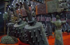 Bianzhong in Hubei Provincial Museum