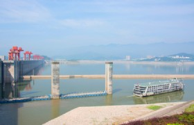Yichang Three Gorges Dam 2