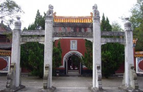 Dangyang guan yu temple entrance