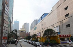 Huangxing Walking Street tower