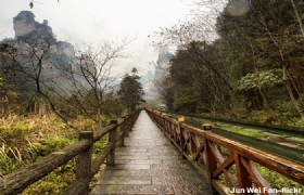 Ten miles Gallery Tianzishan Mountain