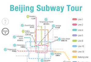 Beijing Subway Tour