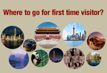 First Time Visitors to China