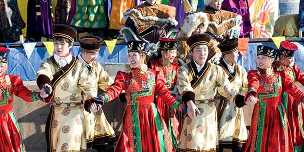 Naadam Fair on Gegentala Grassland