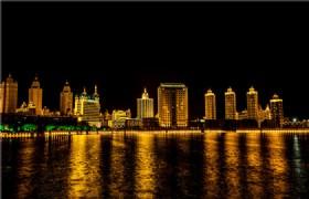 Manzhouli Night Scene