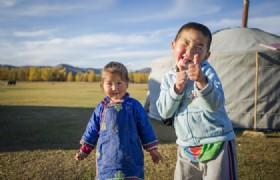 Mongolian Family Visit