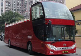 Hong Kong Open-Top Bus Tour