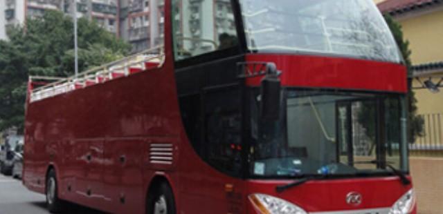 Hong Kong Open-Top Bus Tour