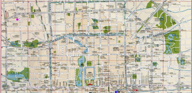 Beijing City Map