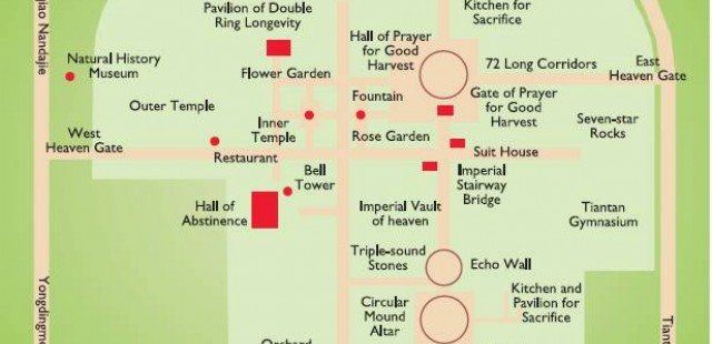 Temple of Heaven Map