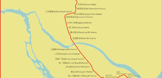 Fuzhou Subway Map