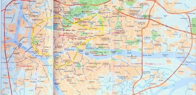 Guangzhou Street Map