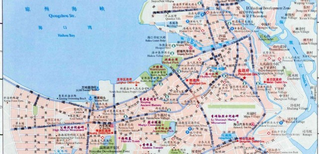 Haikou Street Map