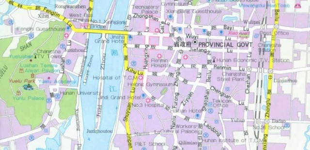 Changshai Street Map