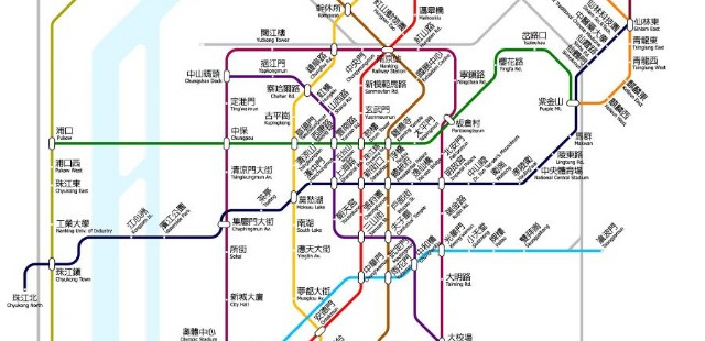 Nanjing Subway Map
