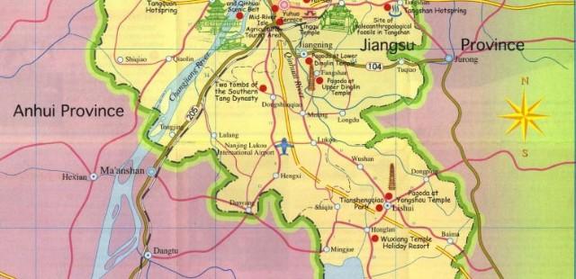 Nanjing Tourist Map