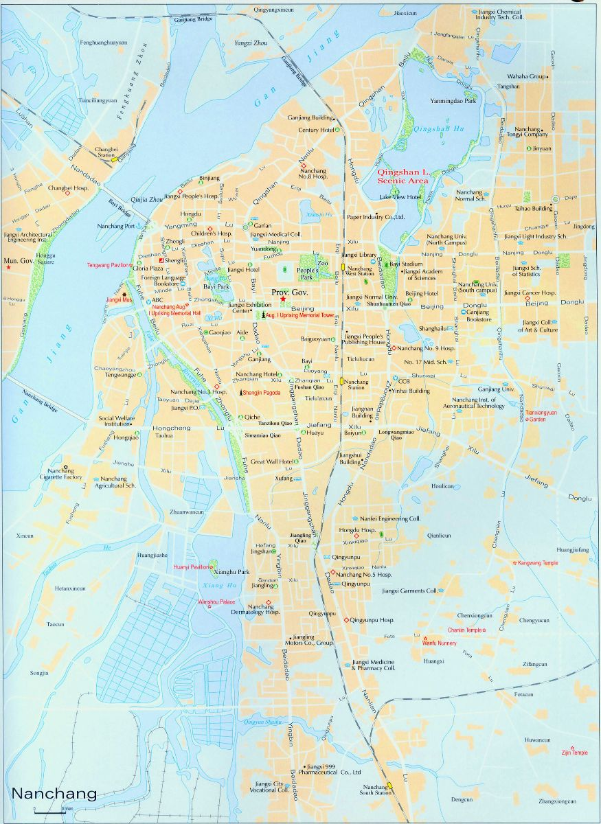 Nanchang Street Map